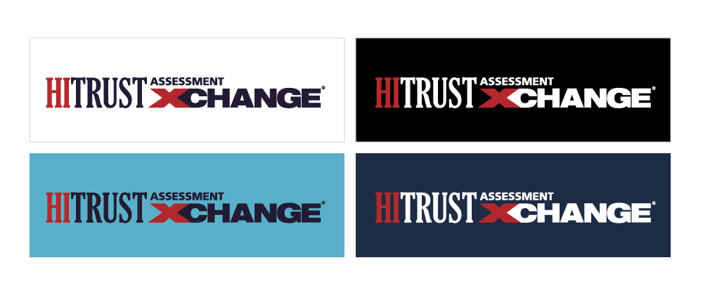 HAX logo on different backgrounds